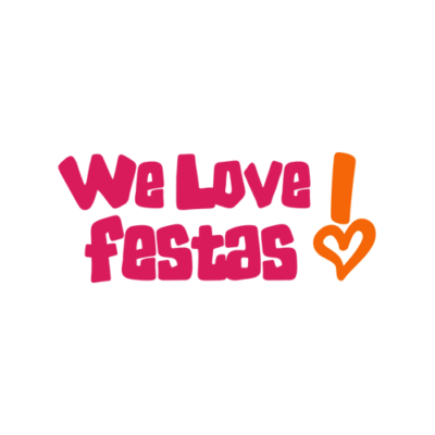 Logo We Love Festas